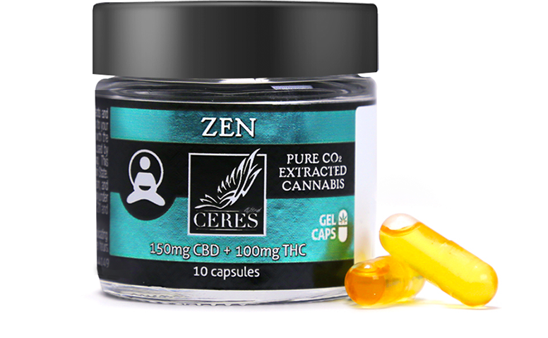 Capsules | Ceres Cannabis | Tier 3 producer/processor in the